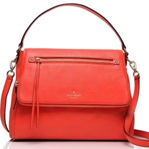 Kate Spade- Cobble Hill Toddy Leather Satchel